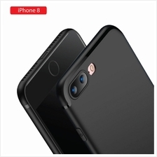Apple iPhone 8 Soft Slim Back Case - Elegant Matte Design