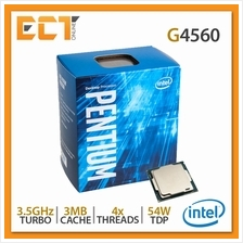 Intel Pentium G4560 Gold Desktop Processor (3.50GHz, 3MB SmartCache, 4
