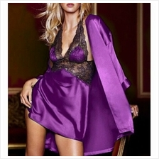 FREE SIZE SEXY LINGERIE / BABYDOLL JL0149 (PURPLE)