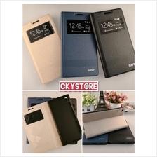 SONY Z L36h Z1 Z2 C3 C5 T2 XA1 Ultra SVIEW Standable Flip case