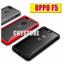OPPO F5 NEW Tough Protection Transparent SLIM Case