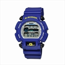 Genuine Casio G-Shock DW-9052-2VDR Digital Sports Watch Matte Blue Sil