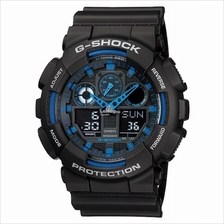 Genuine Casio G-Shock GA-100-1A2DR Analog Digital Sports Watch Matte B