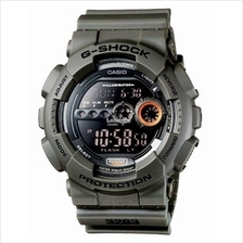 Genuine Casio G-Shock GD-100MS-3ER Digital Sports Watch Military Green