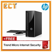 HP Slimline 260-A124D Desktop PC (J3710 2.64GHz,500GB,4GB,W10)