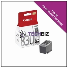 PG-830 BLACK CANON INK CARTRIDGES