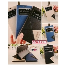 VIVO Y53 Y65 / V7 / V7 PLUS SVIEW Triangle Standable Flip case Pocket