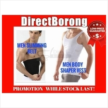 Men Slimming Slim Singlet Vest Belt Slim n Body Fit Shaper)