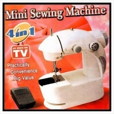 HIGH QUALITY PORTABLE COMPACT MINI SEWING MACHINE 4 IN 1