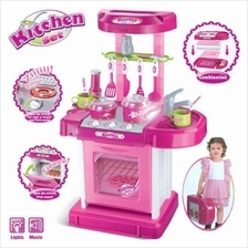 Children Portable Kitchen Toy Play Set Playset Educational