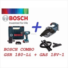 Bosch 18V Combo Cordless Drill Driver & 18V Vacuum Cleaner