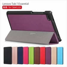 Lenovo Tab 7 Essential TB-7304F /I/X Leather Magnetic Flip Case Cover