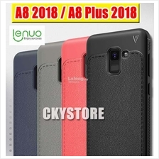 Samsung Galaxy A8 / A8 Plus 2018 LENUO Leather Full Protection Case