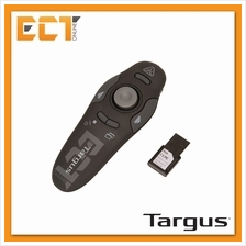 Targus 2.4GHz Wireless USB Presenter with Laser Pointer - AMP17AP