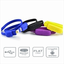 [CLERANCE] CLiPtec WRIST BRACELET Micro USB Data Cable OCC101