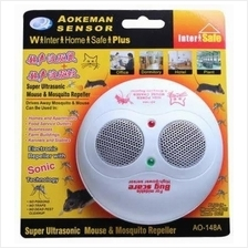 Aokeman Sensor 2 in 1 Mouse chaser & Mosquito repeller now at RM 69.00