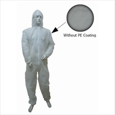 Disposable Non Woven Coverall White With Hood D-C-H FOC Del No GST