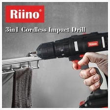 Riino 3IN1 Cordless Impact Drill Set 14.4V Double Speed FOC Magic Saw
