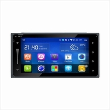 Toyota universal 2Din 7in Android car GPS Stero palyer head unit +Map