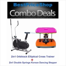 Orbitrack Elliptical Cross Trainer Aerobic Dancing Twister Stepper
