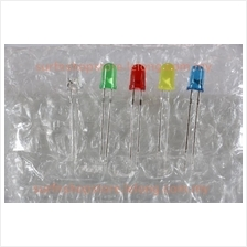 5mm LED ( White/Red/Yellow/Green/Blue ) - 1 pc