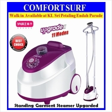 YAIRZ 11 Mode 2x Rod Standing Travel Iron Garment Cloth Steamer