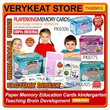 Paper Memory Education Cards kindergarten Teaching Brain Development