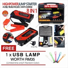 High Power Bank 30000mAh Car Jump Jumper Start Starter Emergency