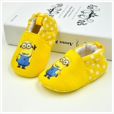 CNY Sale Comfort Baby pre walker shoes Minnion Kitty Doraemon)