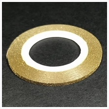 1 roll 2mm wide GOLD striping tape Glitter Nail Art Manicure
