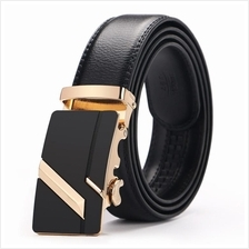 DOULILU Men Leather Automatic Buckle Waist Belt Tali Pinggang 196