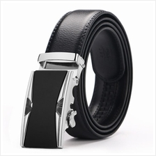 DOULILU Men Leather Automatic Buckle Waist Belt Tali Pinggang 197
