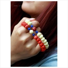 YN-7533	Original ethnic style double color lotus bracelet  民&#2..