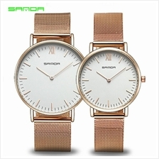 SANDA 208 Luxury Ultra Thin Stainless Steel Quartz Women Watch - RGWH