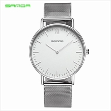 SANDA 208 Luxury Ultra Thin Stainless Steel Quartz Men Watch - SIWH