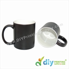 Magic Mug (Black) (Matte) (11oz) with Gift Box