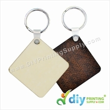 Wooden Keychain (Square) (50 x 50mm)