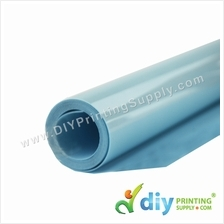 Flock Vinyl Transfer Film (Light Blue) (30 x 50cm)