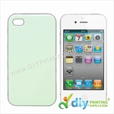 3D Apple Casing (iPhone 4/4S) (Glossy) (Glow in Dark)