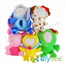 Button Badge Face Doll (58mm only)