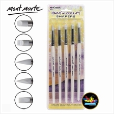 Mont Marte Paint  & Sculpt Shapers 5pcs - 80524