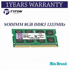 Mix Branded SODIMM 8GB DDR3 1333MHz PC3-10600 Laptop RAM (Refurbished)