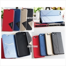OPPO A83 Standable Wallet Flip Case with Pocket