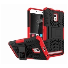 LENOVO A6600 PLUS Tough ARMOR Standable KICKSTAND Case