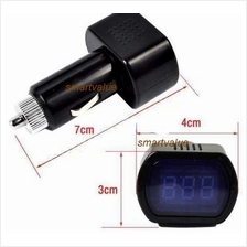 New:12V / 24V Digital Red LED Auto Car Battery Voltage Meter Indicator
