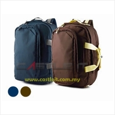 CLIPTEC BACKPACK NOTEBOOK TRIO 15.6' BROWN CFP107-11