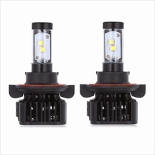 PAIRED K8 H13 80W INTEGRATED LED VEHICLE HEADLIGHT HEAT DISSIPATION VI