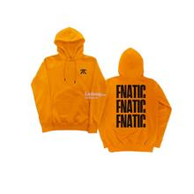 # FNATIC APPAREL - Black and Orange Triple Hoodie # M size only