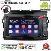 TOYOTA ESTIMA ACR50 8' ANDROID Double Din GPS DVD Mirror Link Player