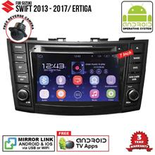 SUZUKI SWIFT 2013-18 7' ANDROID Double Din GPS DVD Mirror Link Player